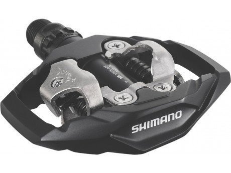 Shimano M530 SPD Pedals | guide to cycling pedals and shoes