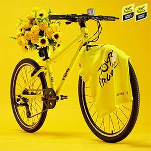 Limited edition Tour de France Frog Bikes