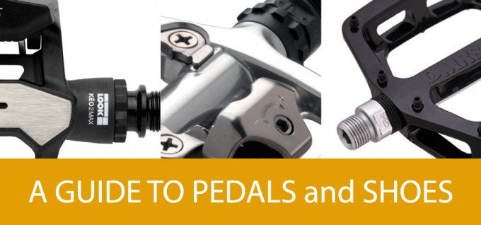 a guide to cycling shoes and pedals