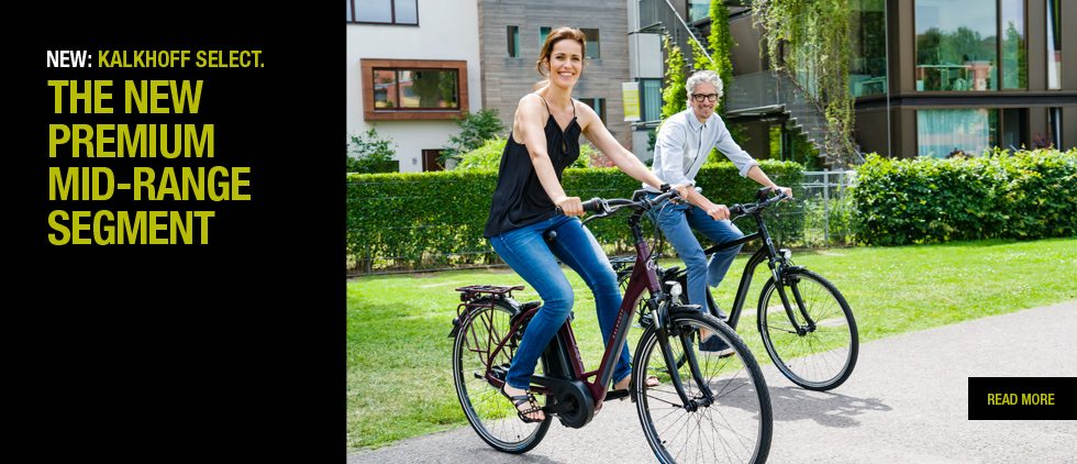 Let's hear it for sensible Euro bikes - Welcome to Kalkhoff, new in store