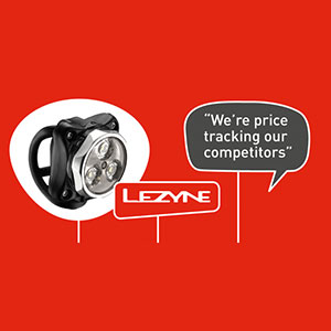 Lezyne Lights and Pumps: Engineered Design