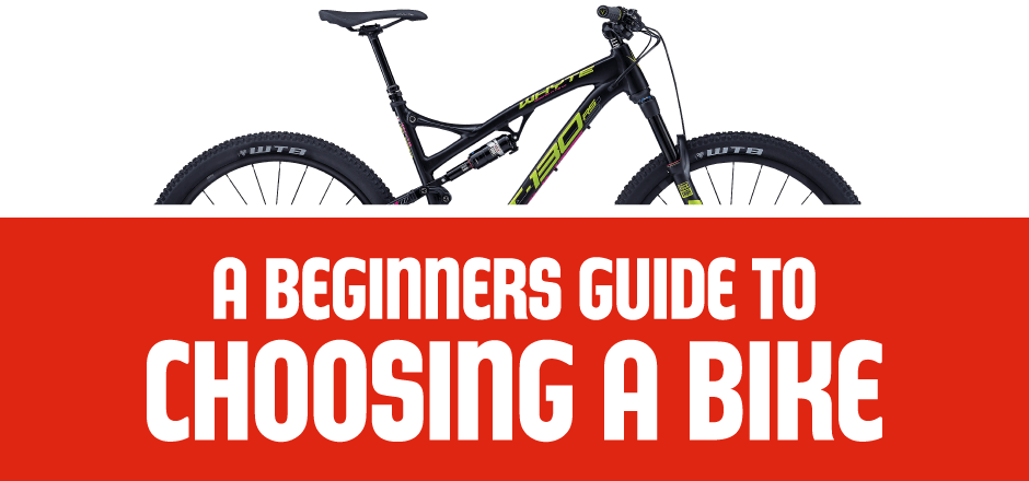 beginners guide to choosing a bike