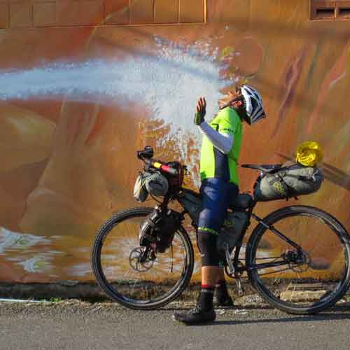 Meet the Man Who is Cycling Around the World... On a Singlespeed