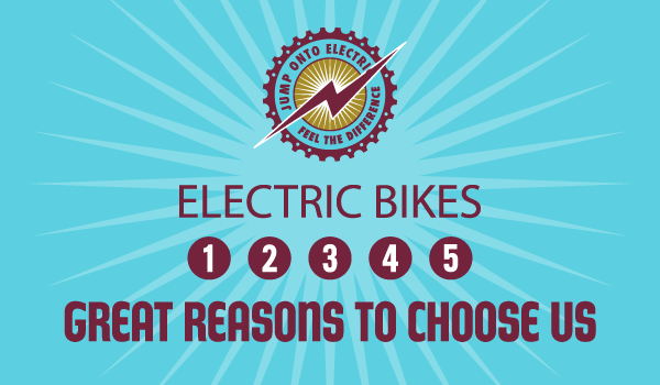 5 Reasons to Buy Your Electric Bike from Us