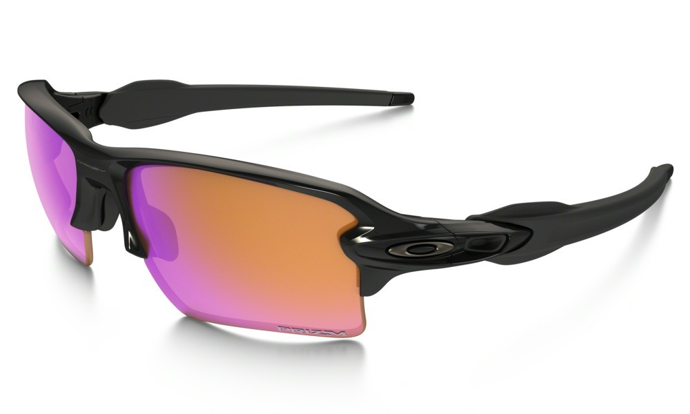 Oakley Flak 2.0 XL Sunglasses Polished Black Frame/Prizm Trail Lens ...