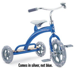 Giant Little Giant Tricycle '03 Tiny Silver