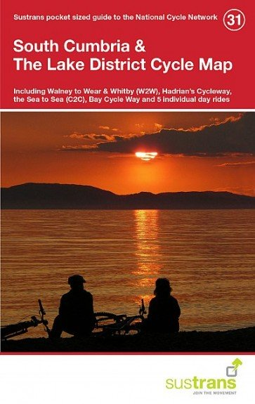 Sustrans Cycle Map 31 South Cumbria & the Lake District