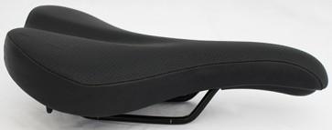 Brompton Saddle With Black Rails