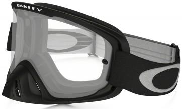 Oakley O2 MX Goggles Matt Black Frame/Clear Lens