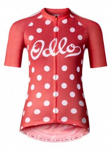 Odlo Women's Ride Short Sleeve Full Zip Jersey