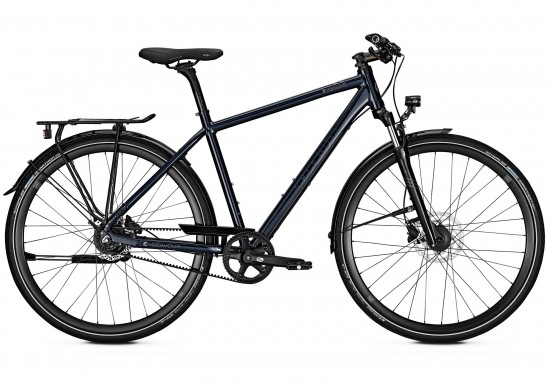 Kalkhoff Endeavour 8 Men's Hybrid Bike in Black