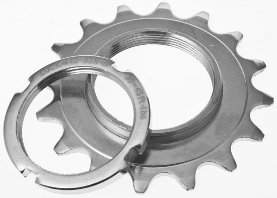 Tru-Build Fixed Sprocket and Lockring