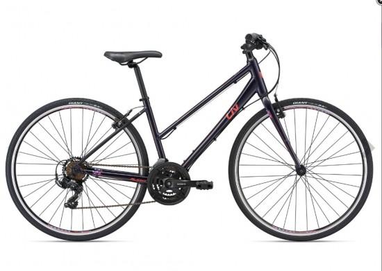 Liv Alight 3 2018 Women's Hybrid Bike in Purple