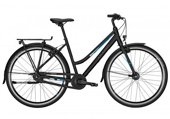 Kalkhoff Durban 7 2018 Women's Hybrid Bike in Black