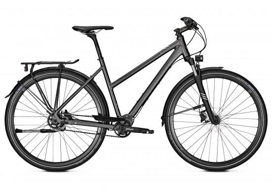 Kalkhoff Endeavour P9 2018 Women's Hybrid Bike in Black