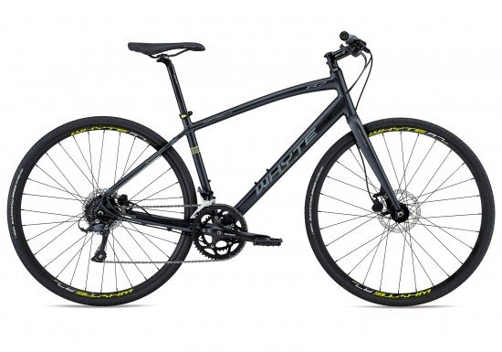 Whyte Portobello 2018 Hybrid Bike in Black