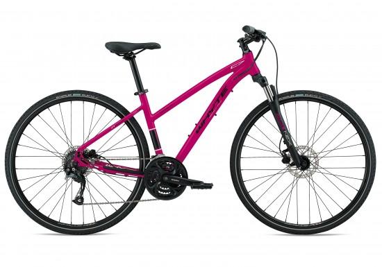 Whyte Ridgeway 2018 Women's Hybrid Bike in Magenta Pink
