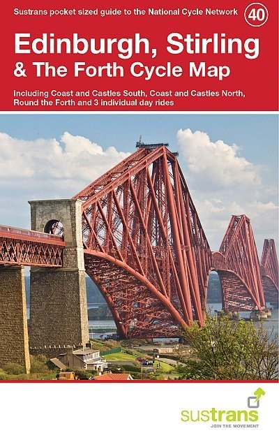 Sustrans Cycle Map 40 Edinburgh, Stirling & the Forth