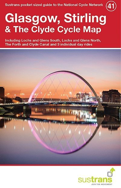 Sustrans Cycle Map 41 Glasgow, Stirling & the Clyde