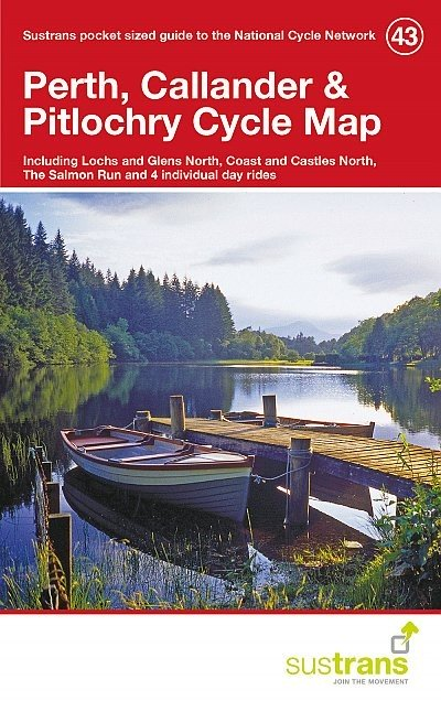 Sustrans Cycle Map 43 Perth, Callander & Pitlochry