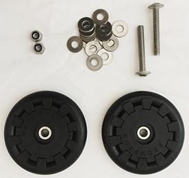 Brompton Eazy Wheel Rollers W/Fittings