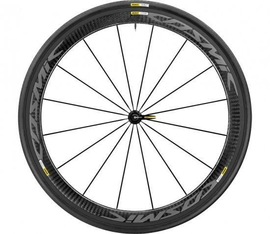 Mavic Cosmic Pro Carbon Exalith 25  Wheel Front