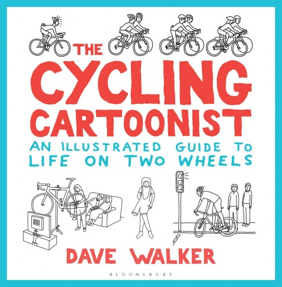 The Cycling Cartoonist by Dave Walker