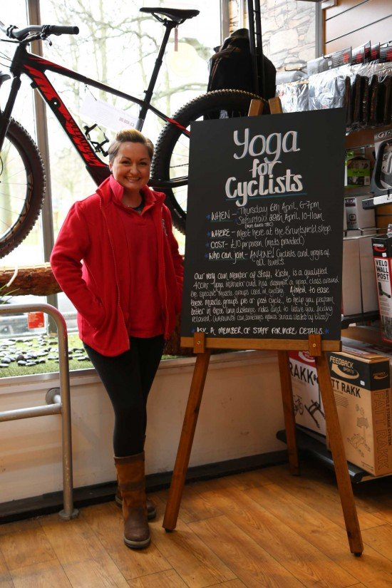 Yoga for Cyclists Call 0345 257 0808 for Times and Dates