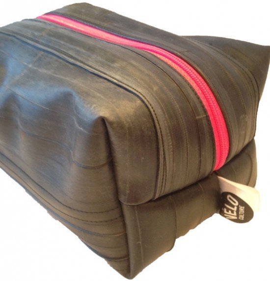 Velo Culture Rubber Dub Dub Unlined Washbag