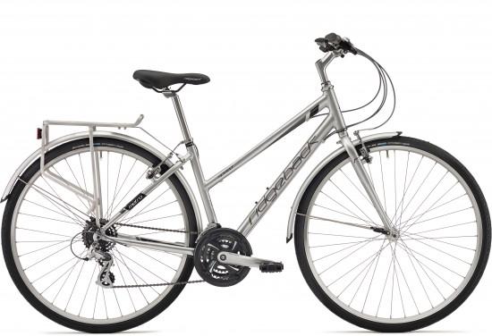 Ridgeback Speed 2018 Women's Hybrid Bike in Silver