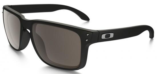 Oakley Holbrook Sunglasses Matte Black Frame/Warm Grey Lens