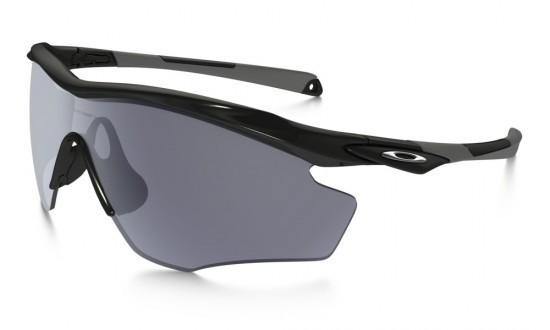Oakley M2 Frame  XL Sunglasses Polished Black Frame /Grey Lens