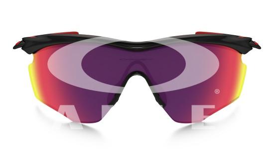 Oakley M2 Frame XL Sunglasses Polished Black Frame /Prizm Road Lens