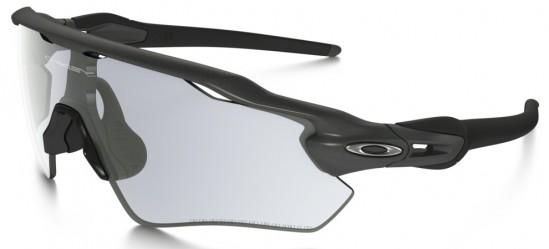 Oakley Radar EV Path Sunglasses Steel Frame/ClearBlack Iridium Photochromic Lens