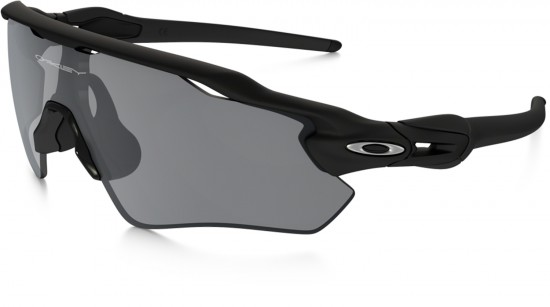Oakley Radar EV Path Sunglasses Matte Black Frame/Black Iridium Lens