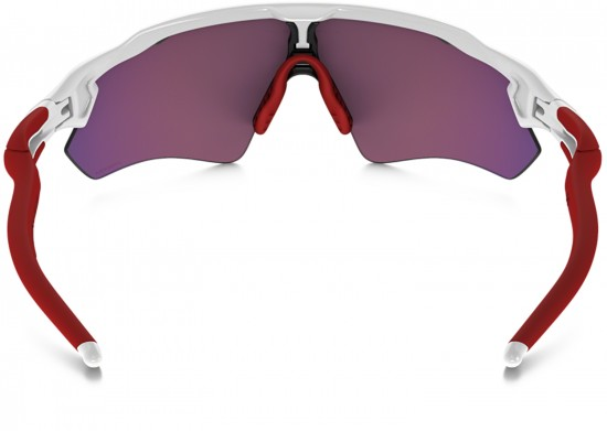 Oakley Radar EV Path Sunglasses Polished White Frame/Prizm Road Lens
