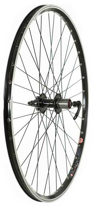 Tru-Build 700C Disc/V-Brake Hybrid Wheel Rear