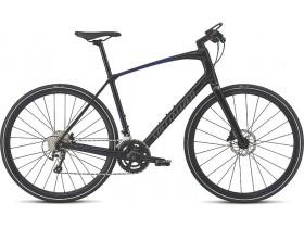 Specialized Sirrus Elite Carbon 2018 Hybrid Bike in Black