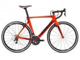 Giant Propel Advanced 2 2018 Road Bike in Red and Black