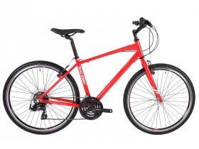 Raleigh Strada 1 Hybrid Bike in Red
