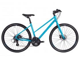 Raleigh Strada 2 Women's Hybrid Bike in Teal Blue