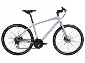 Raleigh Strada 3 2018 Hybrid Bike in Silver
