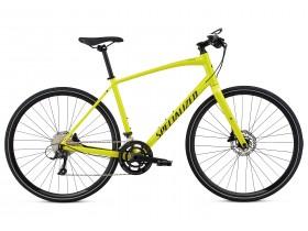Specialized Sirrus Sport 2018 Hybrid Bike in Yellow