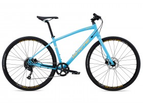 Whyte Carnaby 2018 Women's Compact Hybrid Bike in Blue