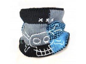 Buff Junior Neckwarmer Knitted & Polar Buff
