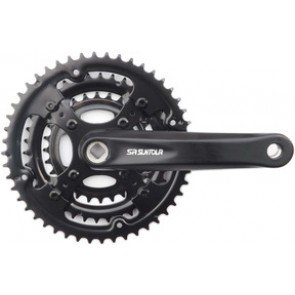 Suntour XCC 7/8-Speed SQ Taper Chainset