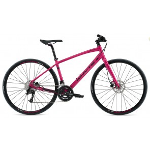 Whyte Pimlico 2017 Women's Compact Hybrid Bike in Magenta Pink