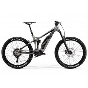 Merida Eone-Sixty 800 2018 Electric Bike in Titanium and Black
