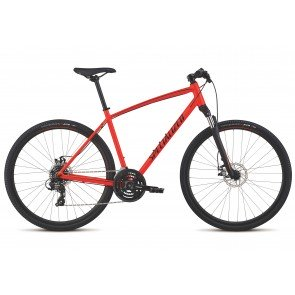 Specialized Crosstrail Mechanical Disc 2018 in Red