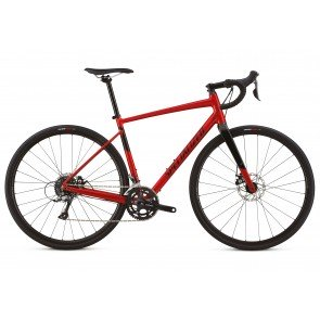 Specialized Diverge E5 2018 Adventure Road Bike in Red and Black